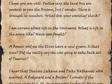 Shakra's Letter