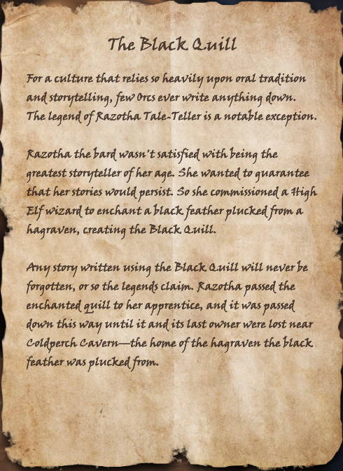 The Black Quill (Book)