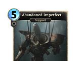 Abandoned Imperfect
