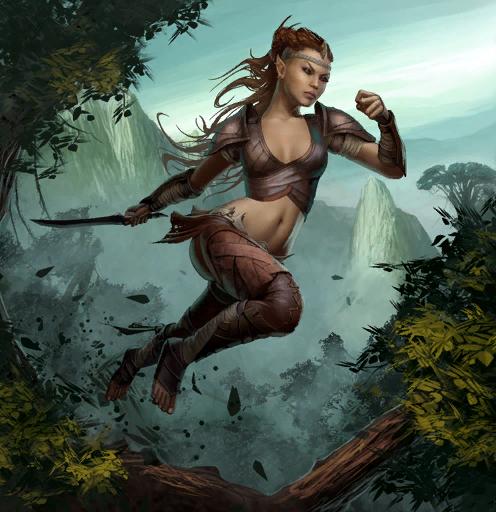 Elficka zwiadowczyni
