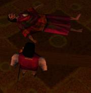 Redguard - Voa's body