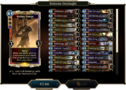 Redoran Onslaught Deck 1