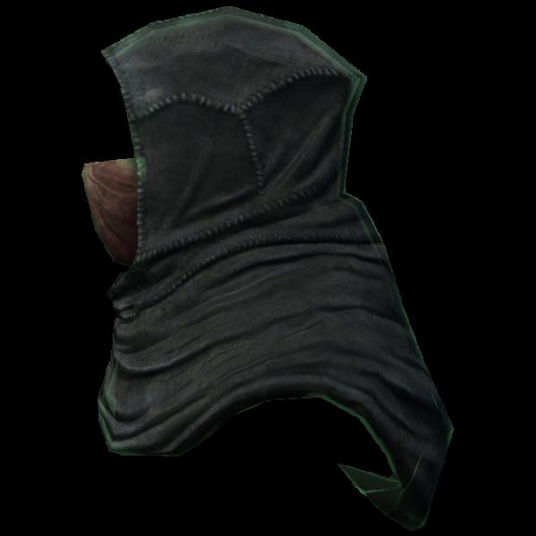 Древний капюшон теней с маской
