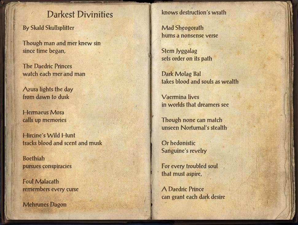 Darkest Divinities