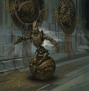 Dwemer Sphere Concept Art