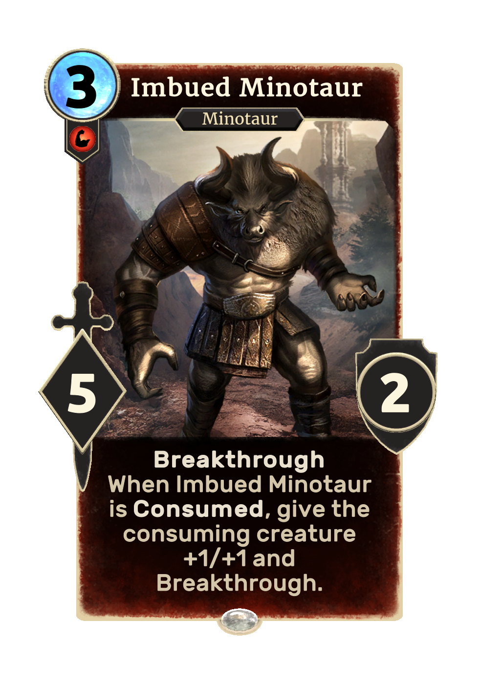 Imbued Minotaur