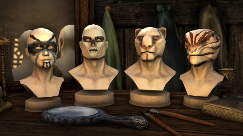 Cosmetic Pack: Face Markings