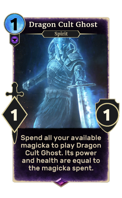 Dragon Cult Ghost