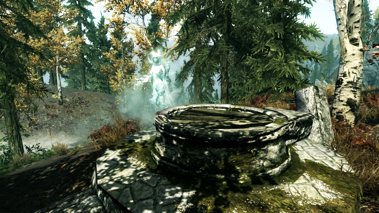 Ruined Toll and Wispmother's Well