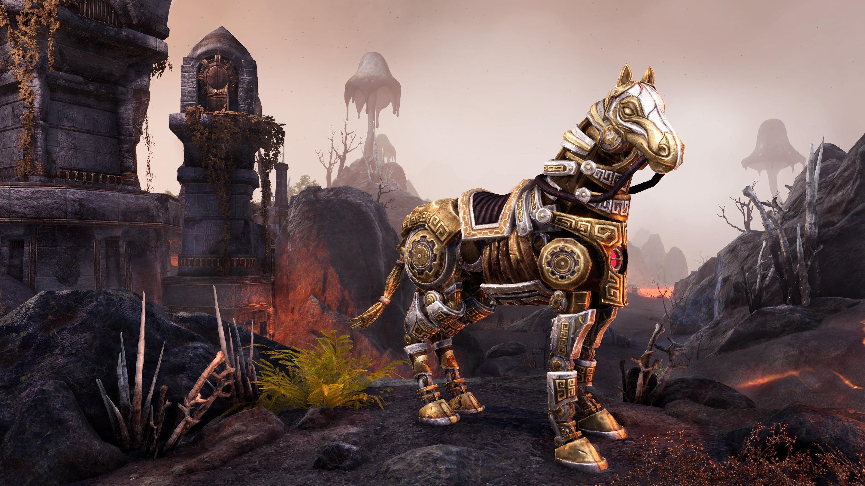 Adamant Dwarven Horse
