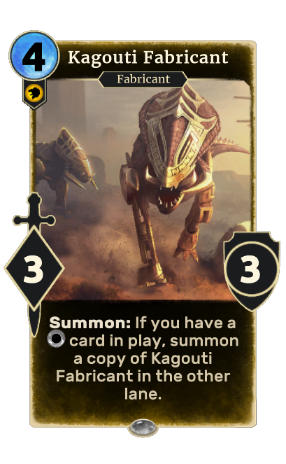 Kagouti Fabricant (Legends)