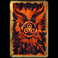 Flame Atronach Crown Crate Card