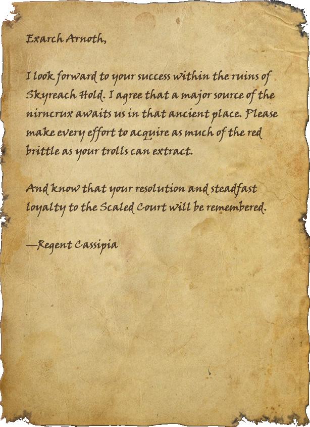 From Regent of Serpentine Stratagems