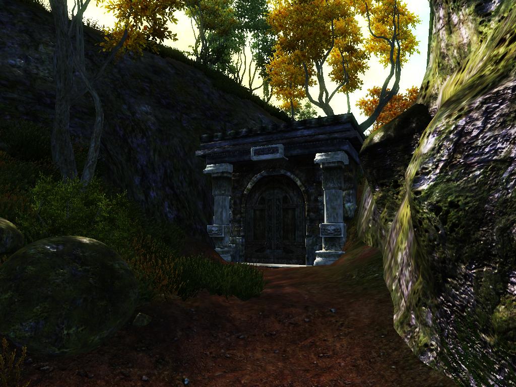 Секретный вход в Зазельм