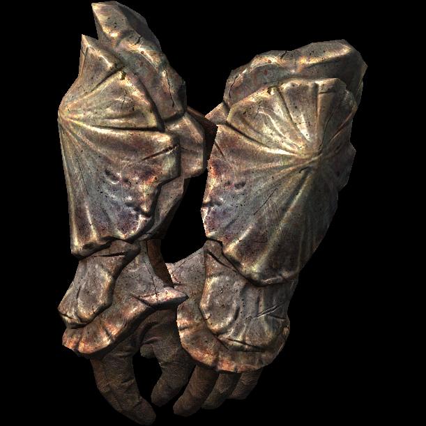 Хитиновые наручи (Dragonborn)