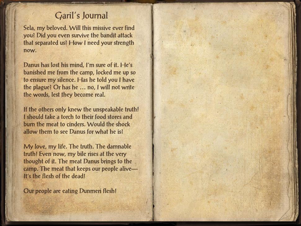 Garil's Journal
