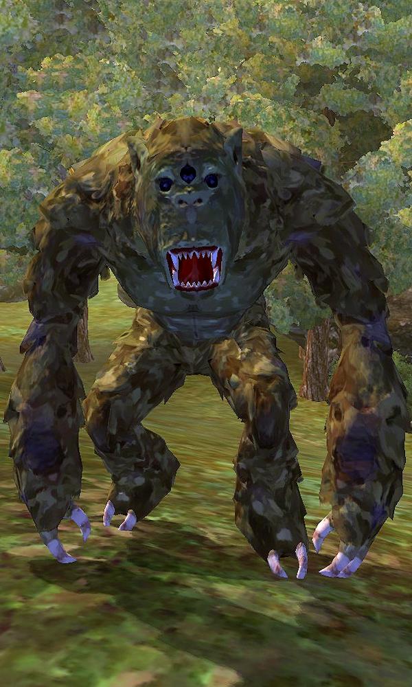 Painted Troll (Oblivion)