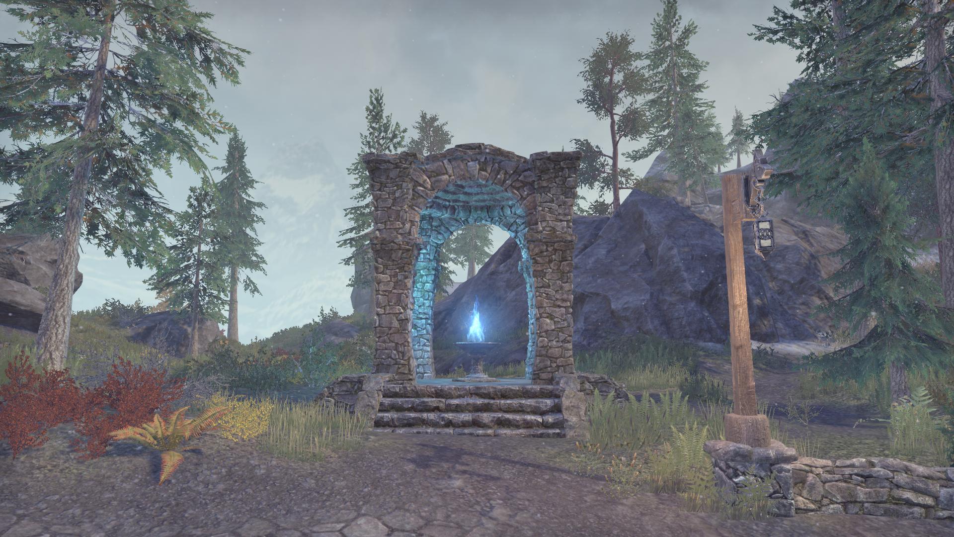 Дорожное святилище Лесной долины