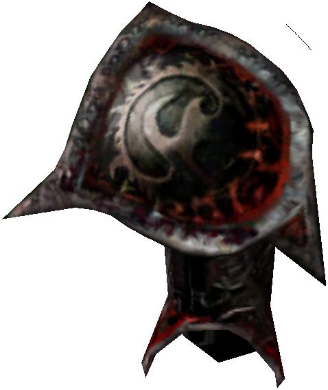 Daedric Right Pauldron (Morrowind)