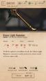 Glass Light Hammer