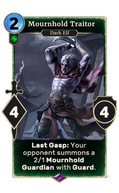 Mournhold Traitor