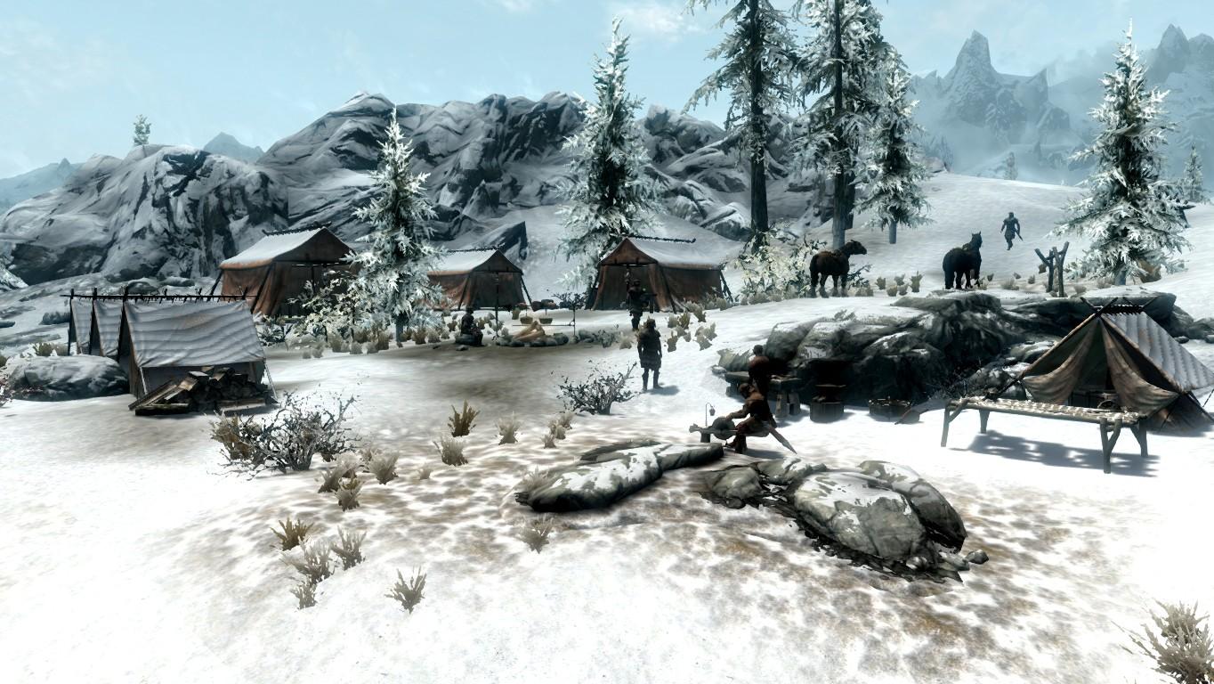 Белый Берег — Имперский лагерь