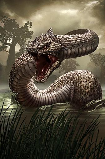 Ogromny wąż