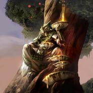 Shadowfen Priest alternate card art
