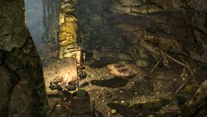 Кристаллическая пещера — заброшенный лагерь