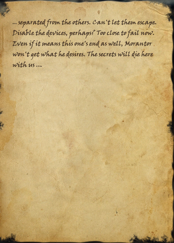 Scrap of Adubaer's Journal