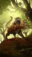 Senche-Tiger card art