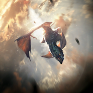 Swiftwing Dragon card art