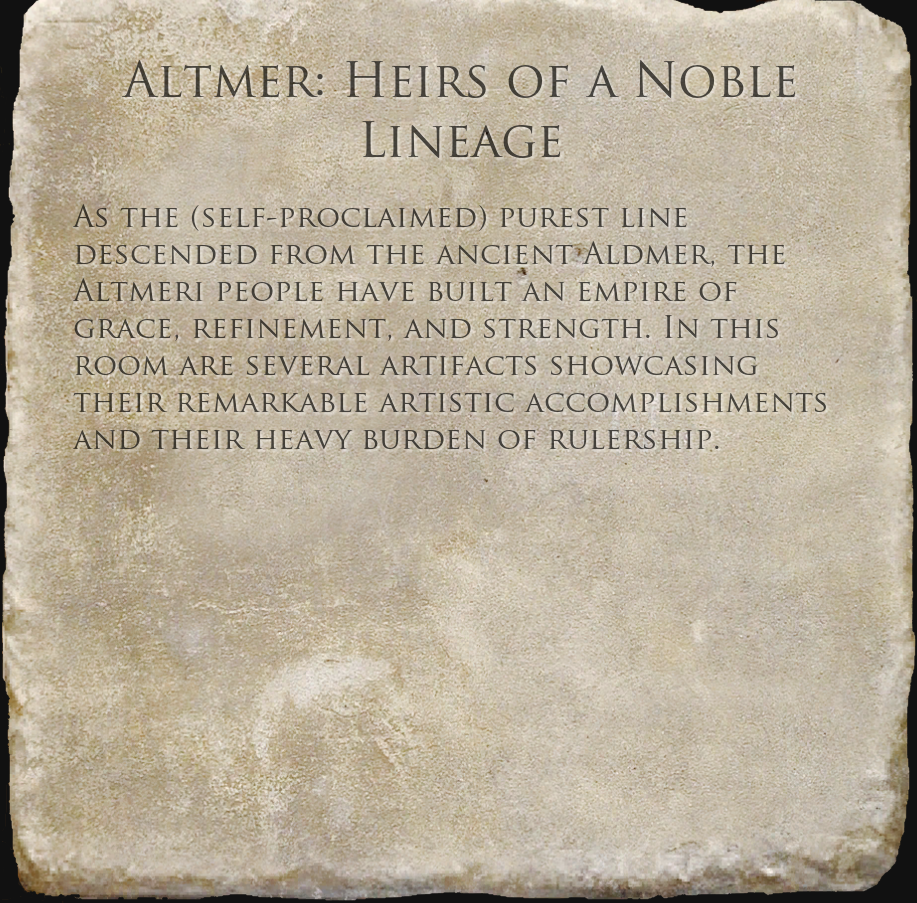 Altmer: Heirs of a Noble Lineage