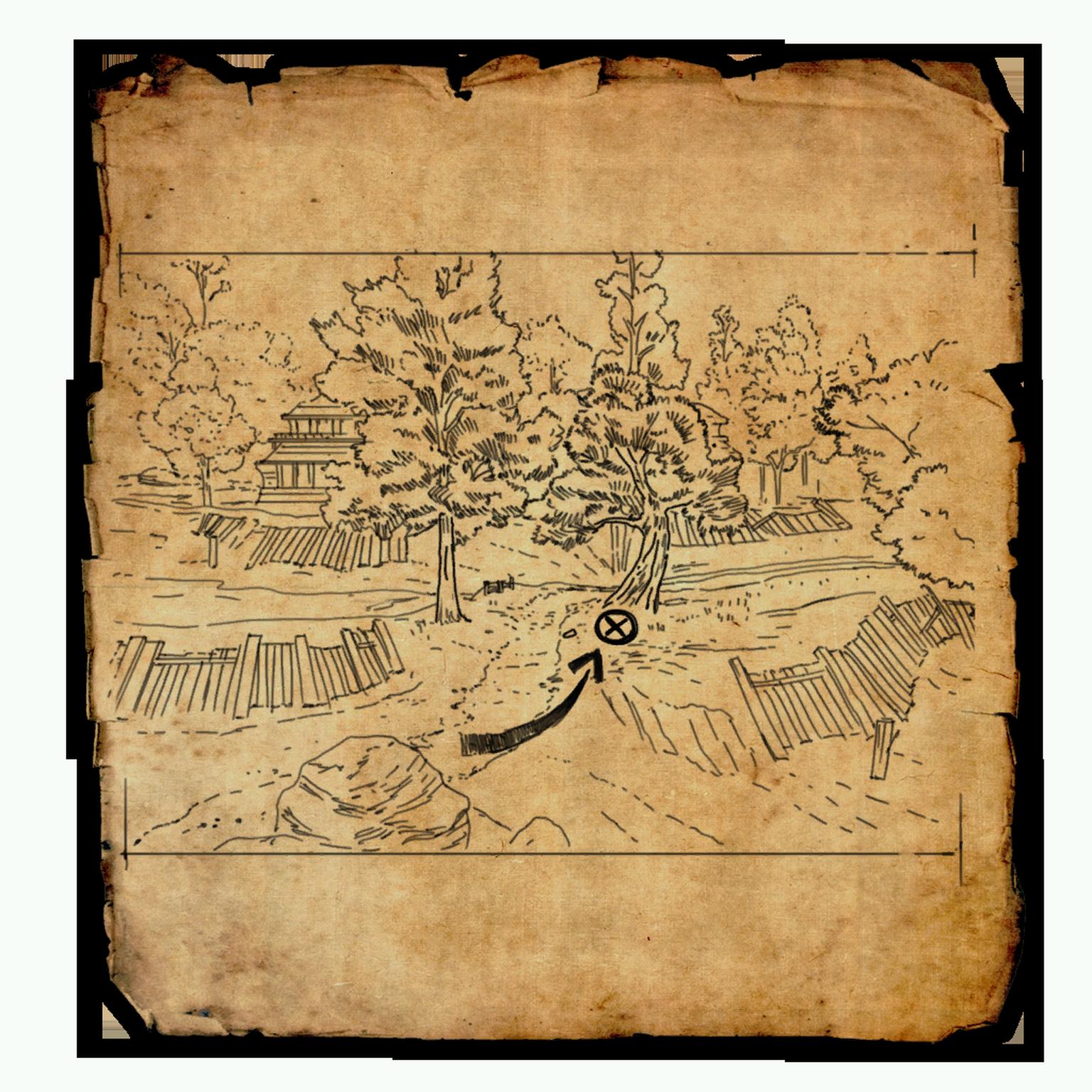 Cyrodiil Treasure Map XVI