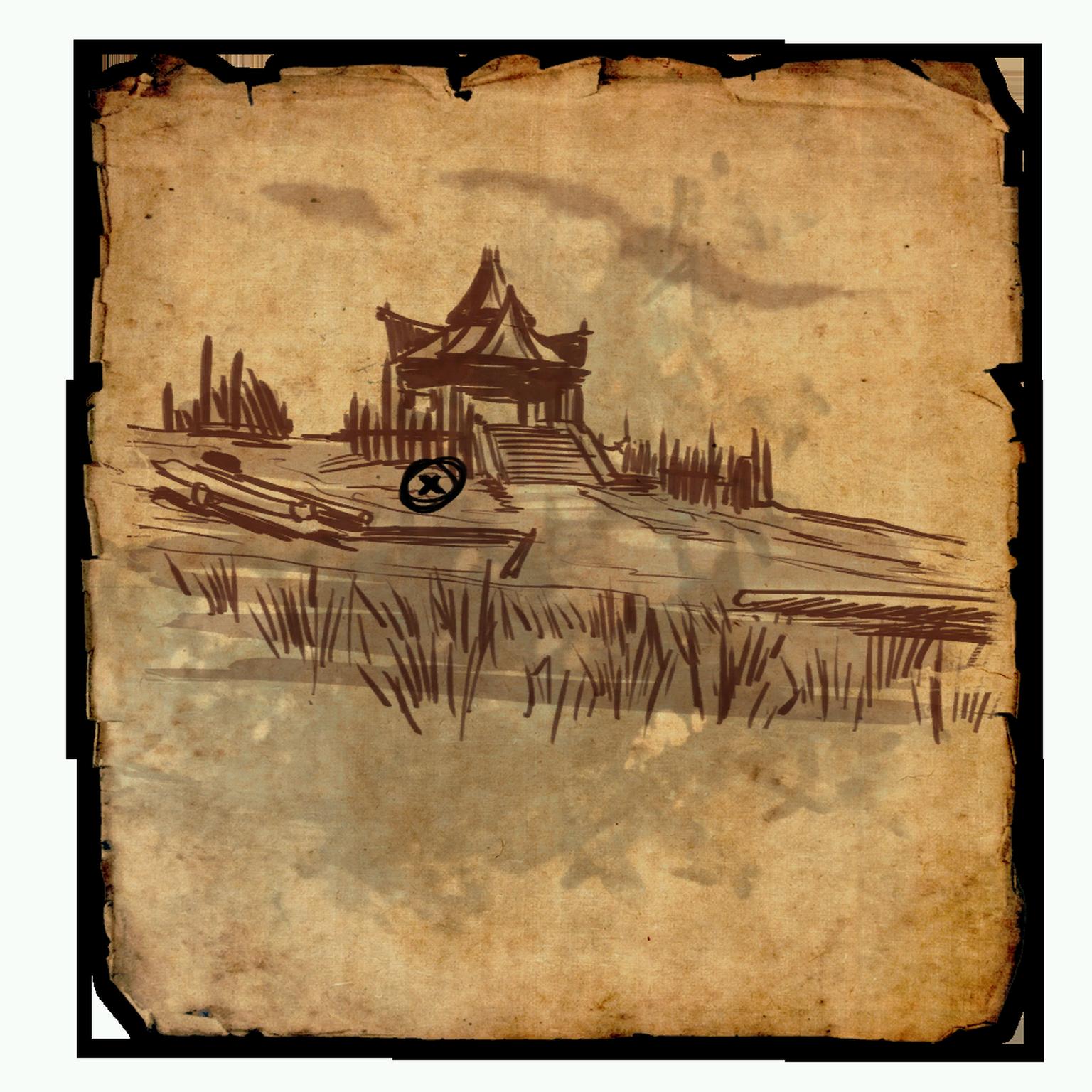 Cyrodiil Treasure Map XVII