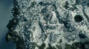 Святилище Зенитара - Проход Моэсринг - Карта