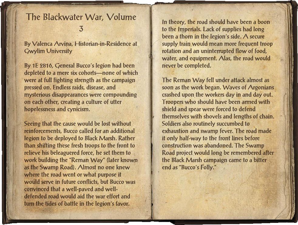 The Blackwater War, Volume 3