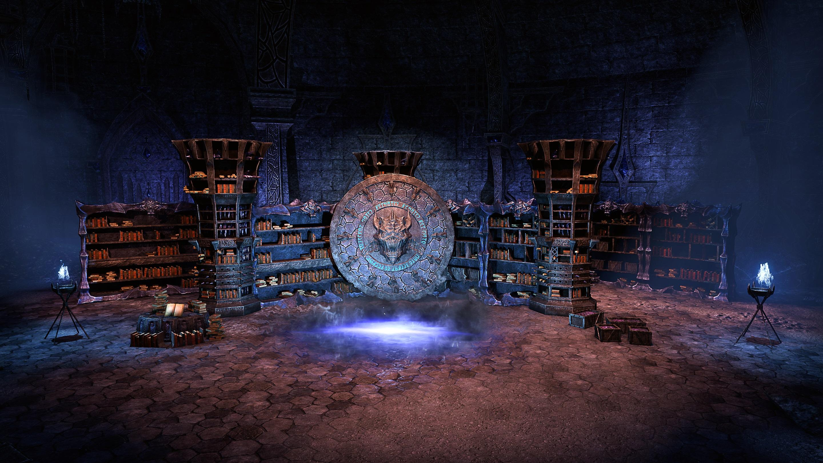 Coldharbour Arcanaeum Furnishing Pack