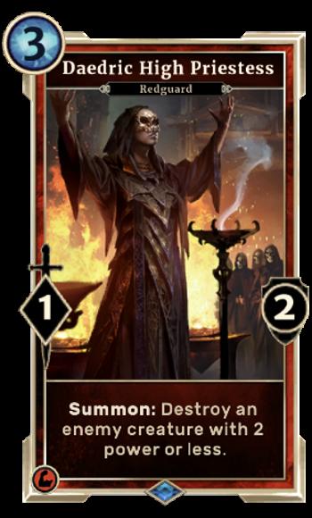 Daedric High Priestess