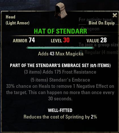 Stendarr's Embrace