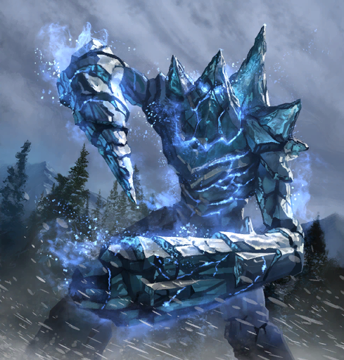Atronach mrozu (Legends)