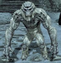 Troll śnieżny (Skyrim)