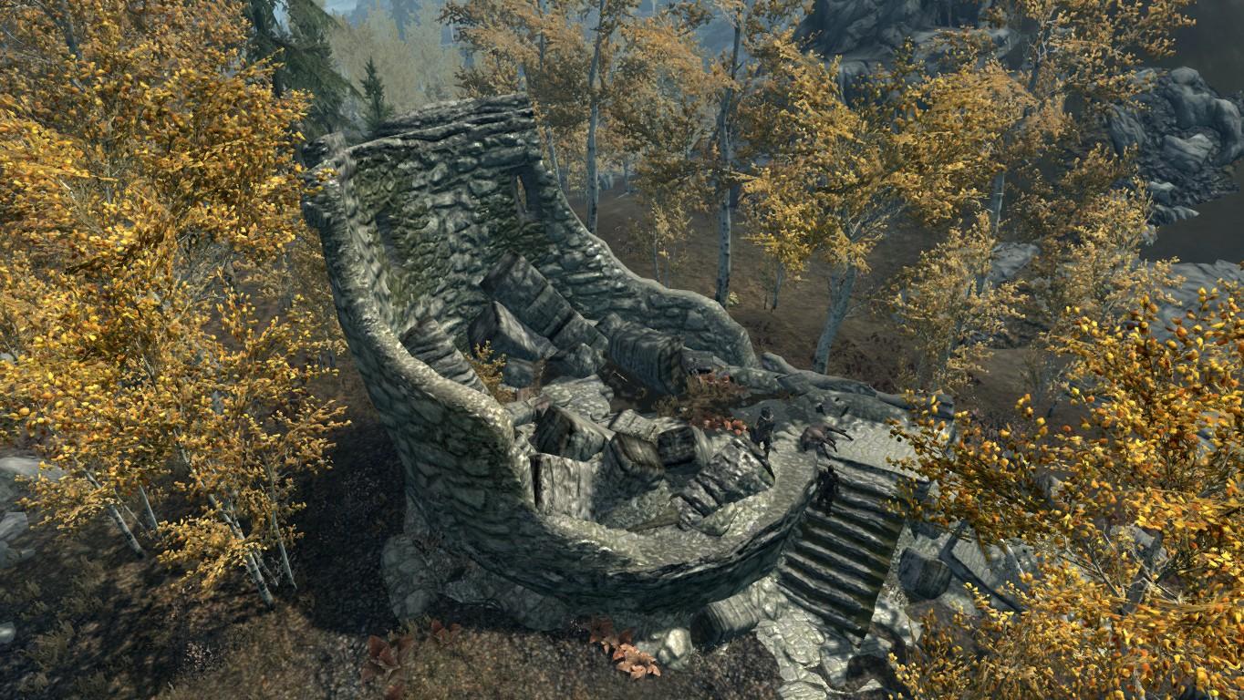 Разрушенная башня — Окраины Рифтена