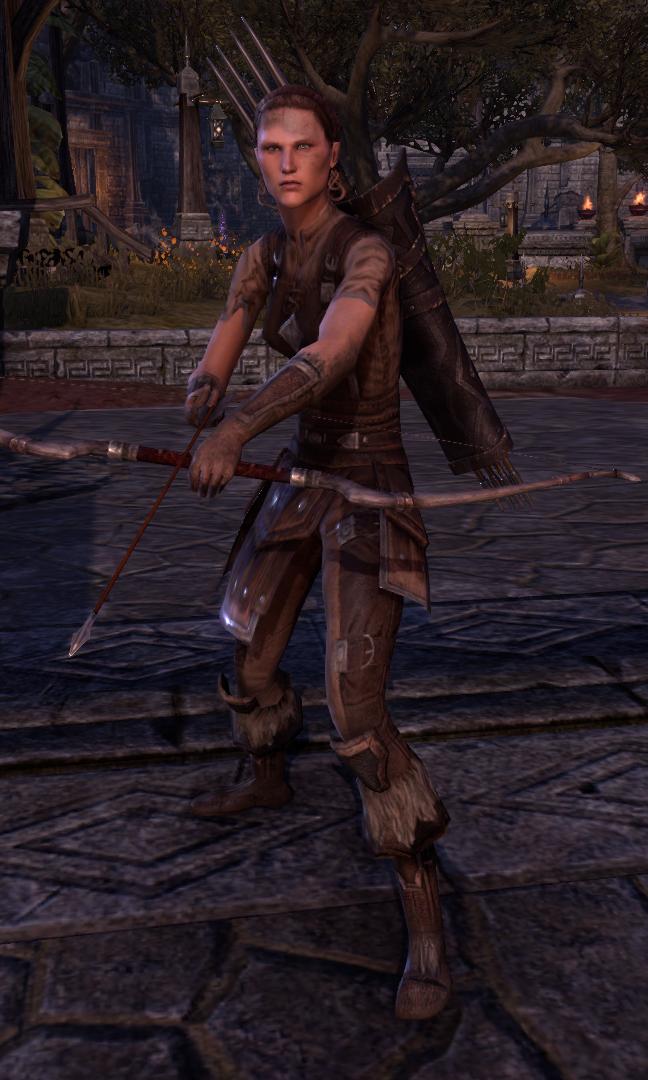 Archer des hautes terres