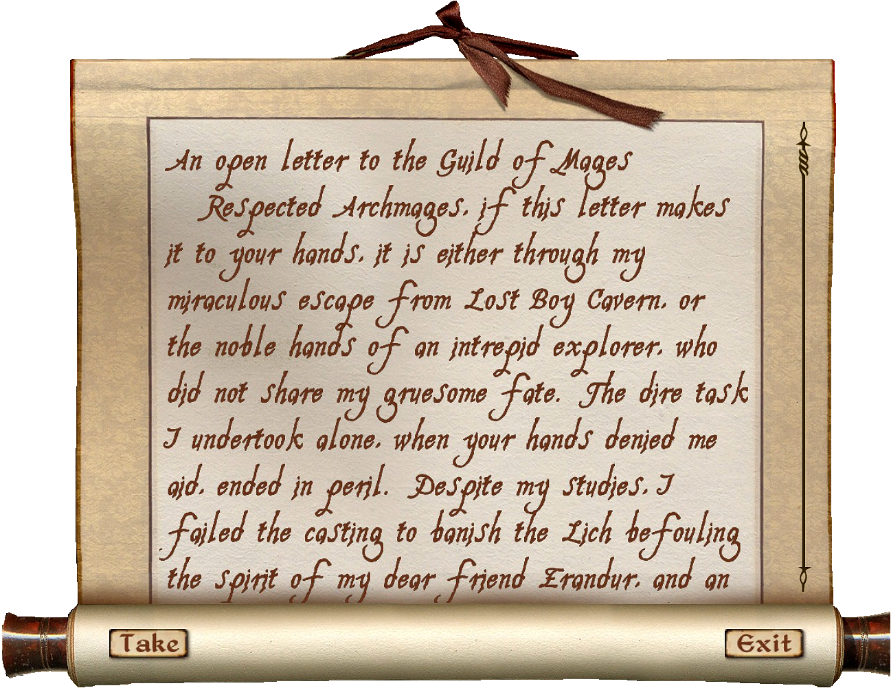 Letters to the Guild of Mages