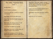The Sultry Argonian Bard, Vol. 1