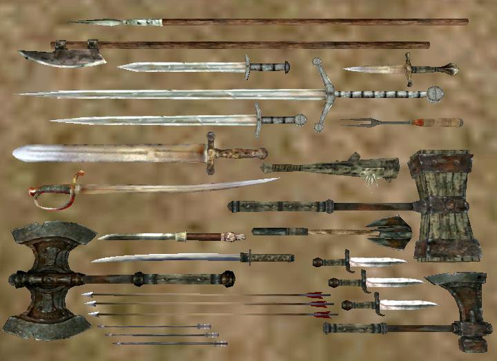 Железное оружие (Morrowind)