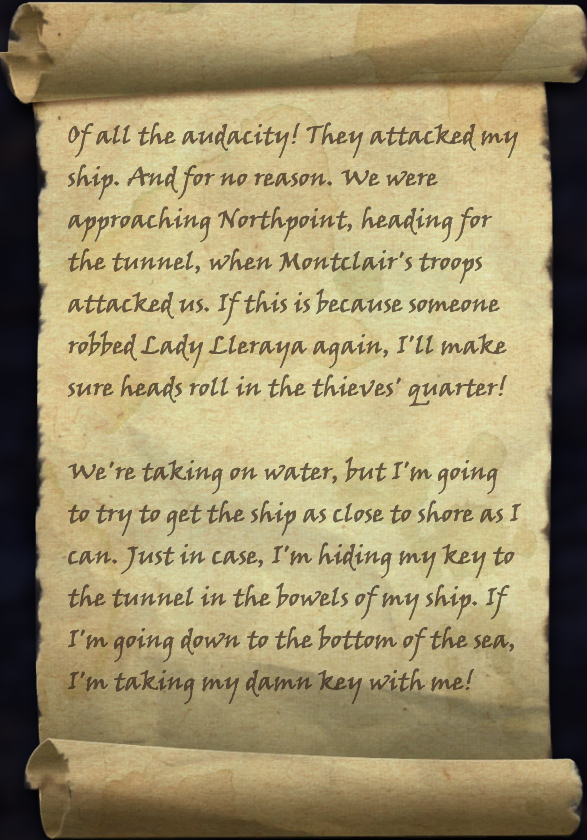 Message in a Bottle (Rivenspire)