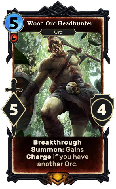 Wood Orc Headhunter