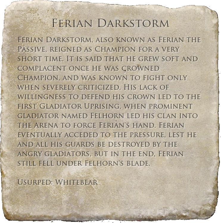 Ferian Darkstorm